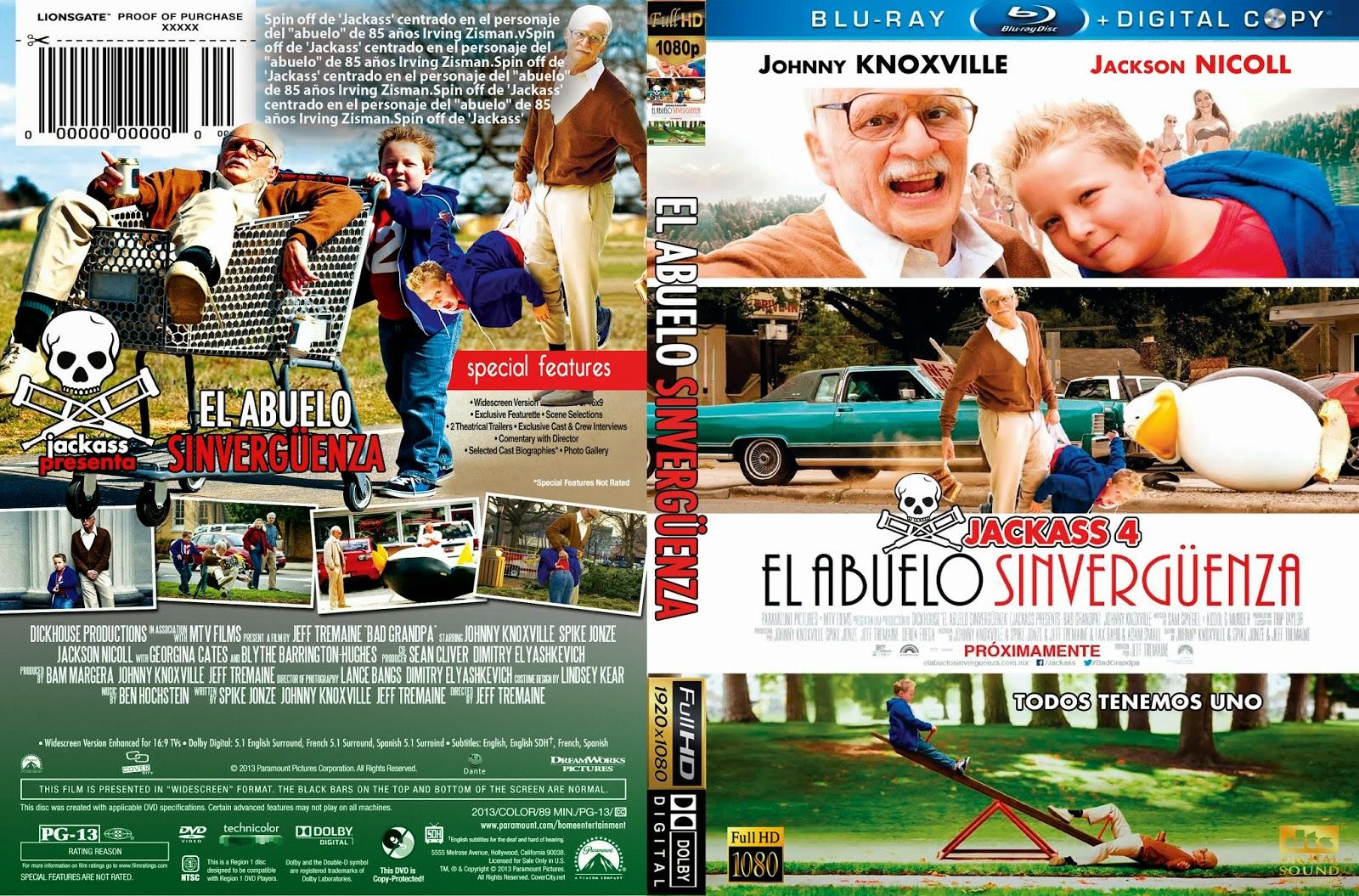 el+abuelo+sin+verguenza++Bad+Grandpa El Abuelo Sinverguenza [BrRip 720p] [Latino]