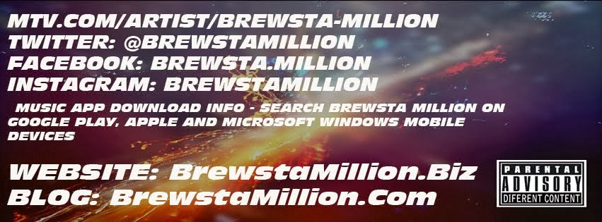 Press Banner For All Access Pass to BrewstaMillion.Biz Official Music Site