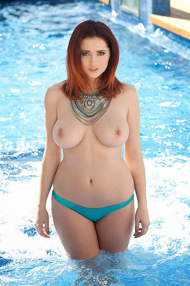Lucy Collett Topless Page 3