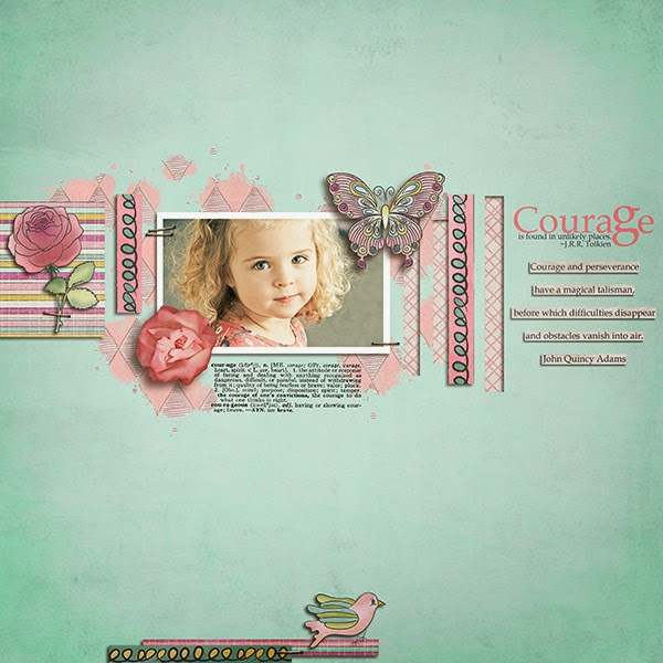 Normally in summer all programs on tv are being repeated. There are no new episodes of our fav series what I REALLY DISLIKE. That's why I decided to do the contrary! Yeees new series on the blog! And we will continue the older ones, too.  Today we are starting with a new one called ONE TEMPLATE MANY PAGES  I will be showing you pages made by the same CT member with just one template. You will see how many times you can use the same template and still be creative and make totally different pages.  We are staring with Susanne aka sucali and her pages with Little secret template