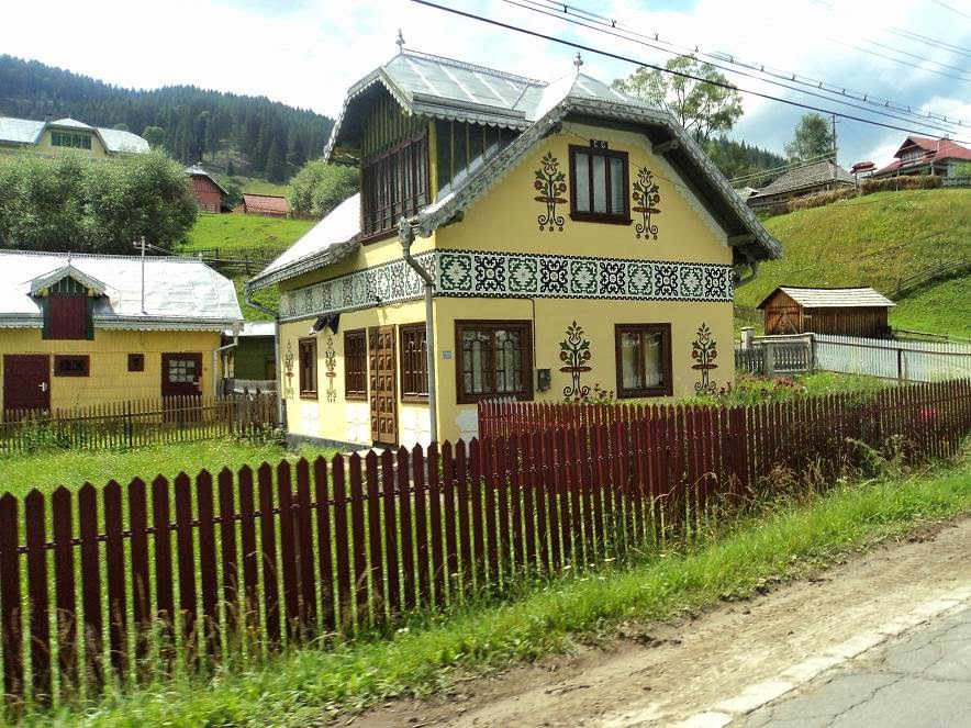 Ciocanesti traditional house, Bucovina