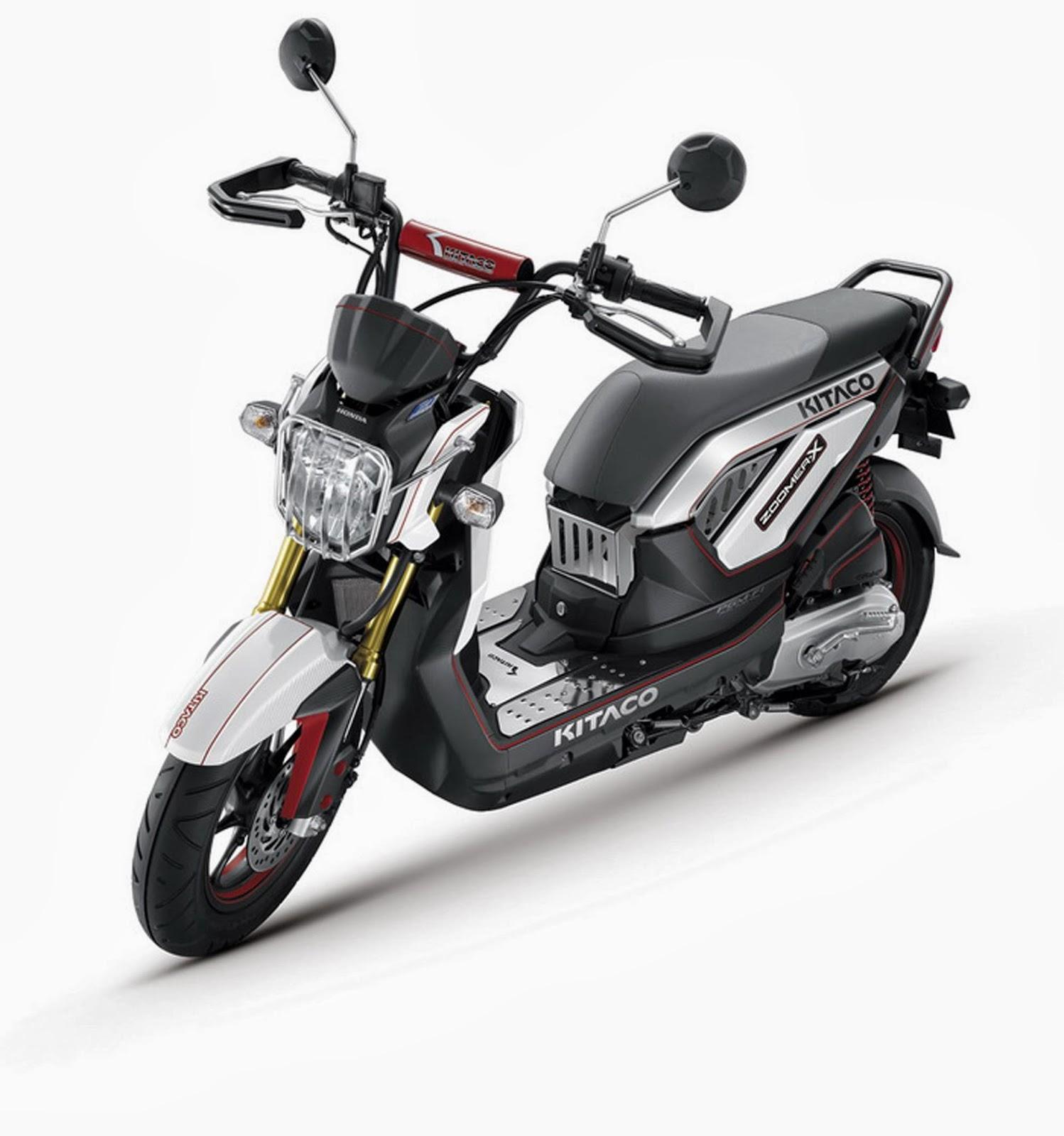 Foto Honda Zoomer X Putih Skutik Honda Model Terbaru