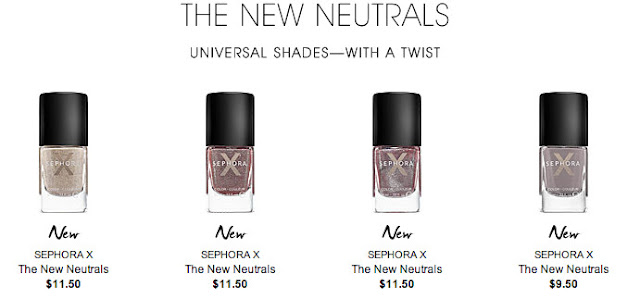 sephora x new neutrals