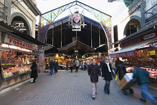 Mercado de la Boquería de Barcelona