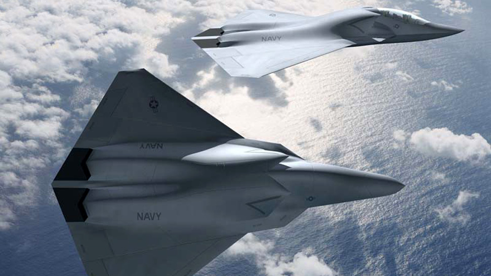 Next Generation Us Fighter Jet on 35 news