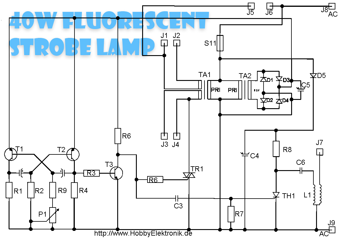 October 2014 Collection Schematic 6 10w Audio Amplifier With Ic Tda2002 Circuit Diagram 40 Watt Fluorescent Lamps Schematics