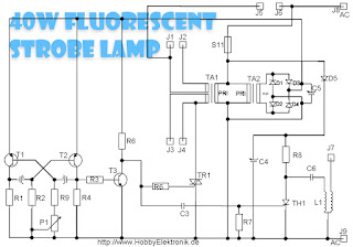 40 Watt Fluorescent Lamps Diagram Schematics