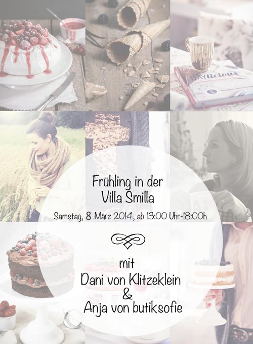 Save the date -Frühlingsevent