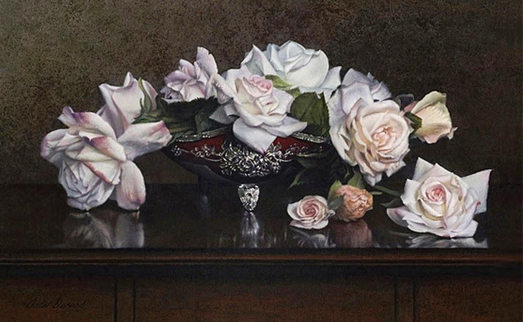 hiperrealismo-cuadros-de-flores-pintados-al-oleo