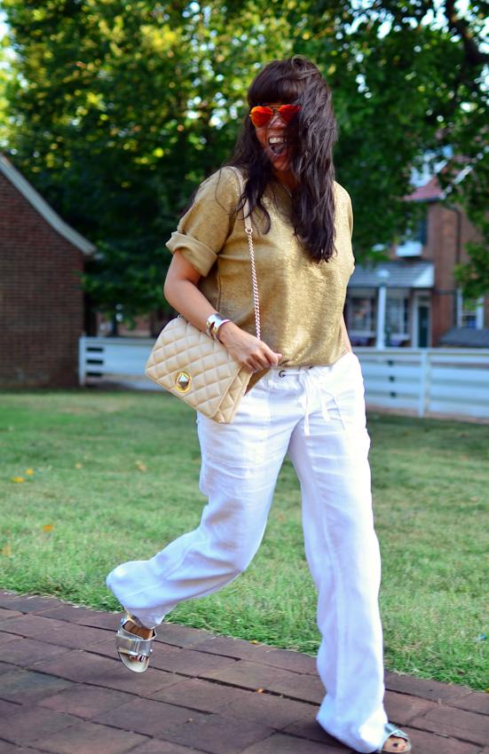 Linen pants trend