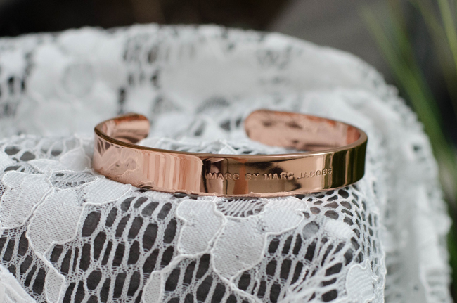 Marc by Marc Jacobs Rose Gold Screw Cuff