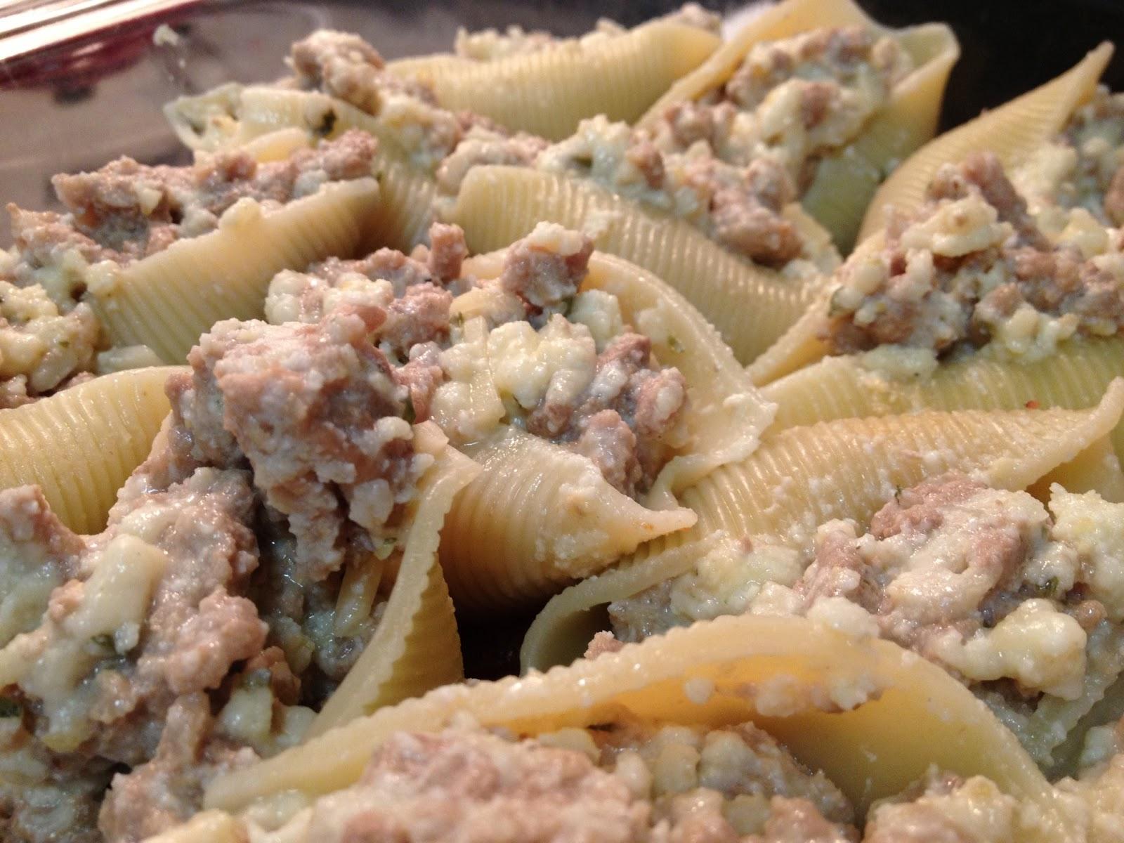 Turkey stuffed pasta shells recipes