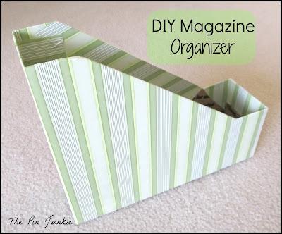 DIY Magazine Organizers