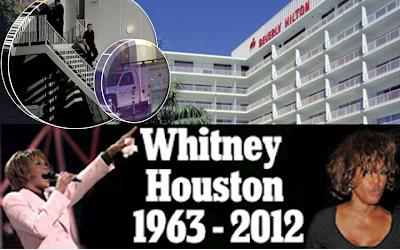 Whitney houston hotel room where she died