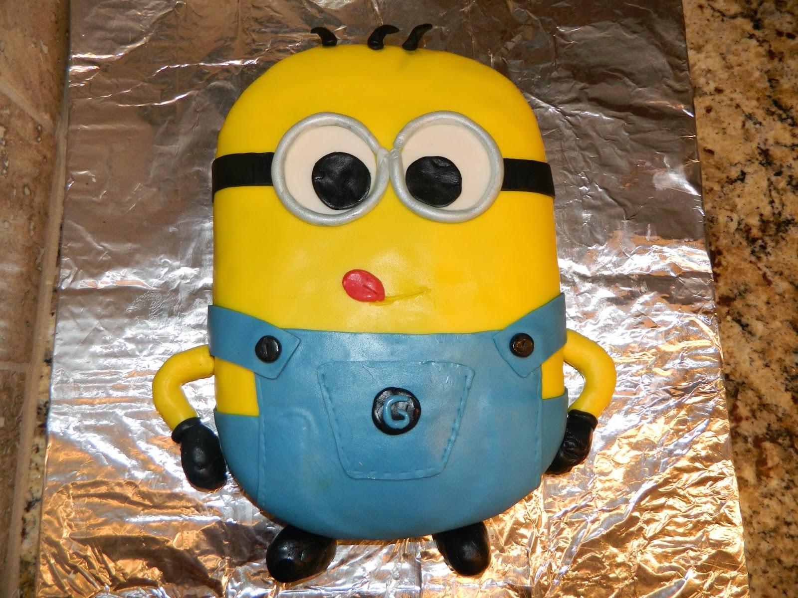 %name Minion Birthday Cake Pan