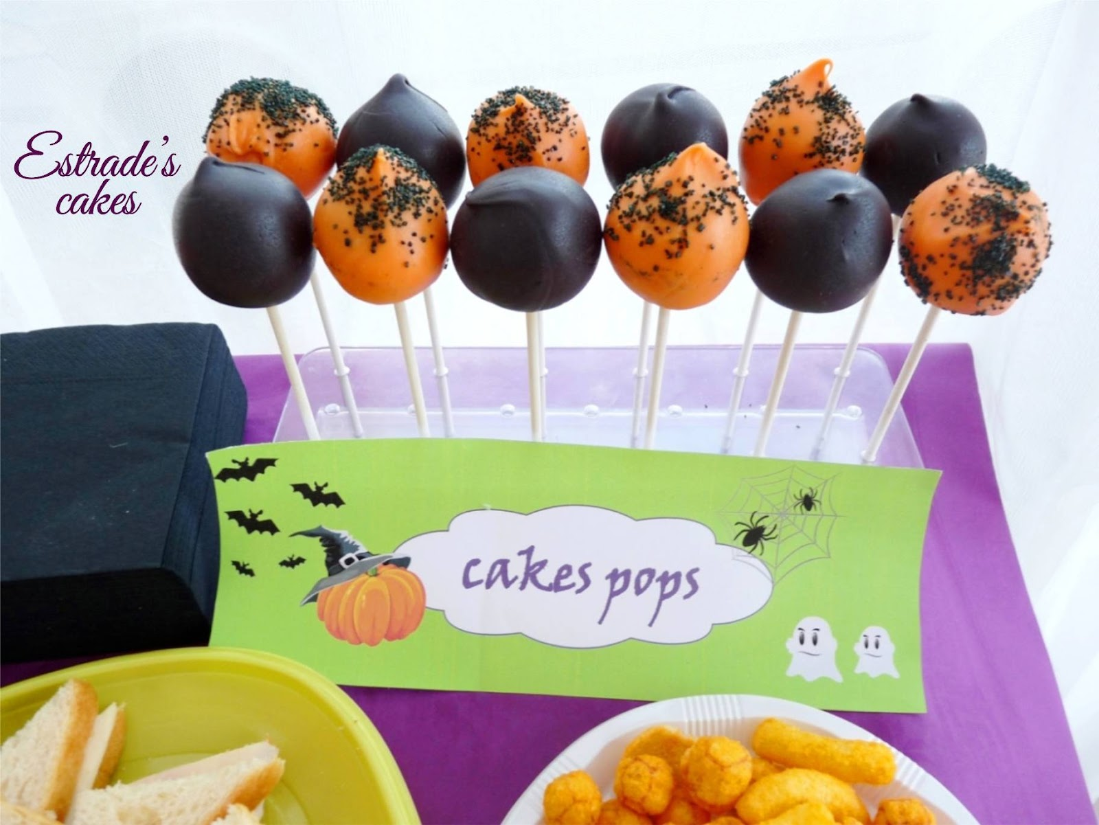 cumple-taller Paula - cake pops