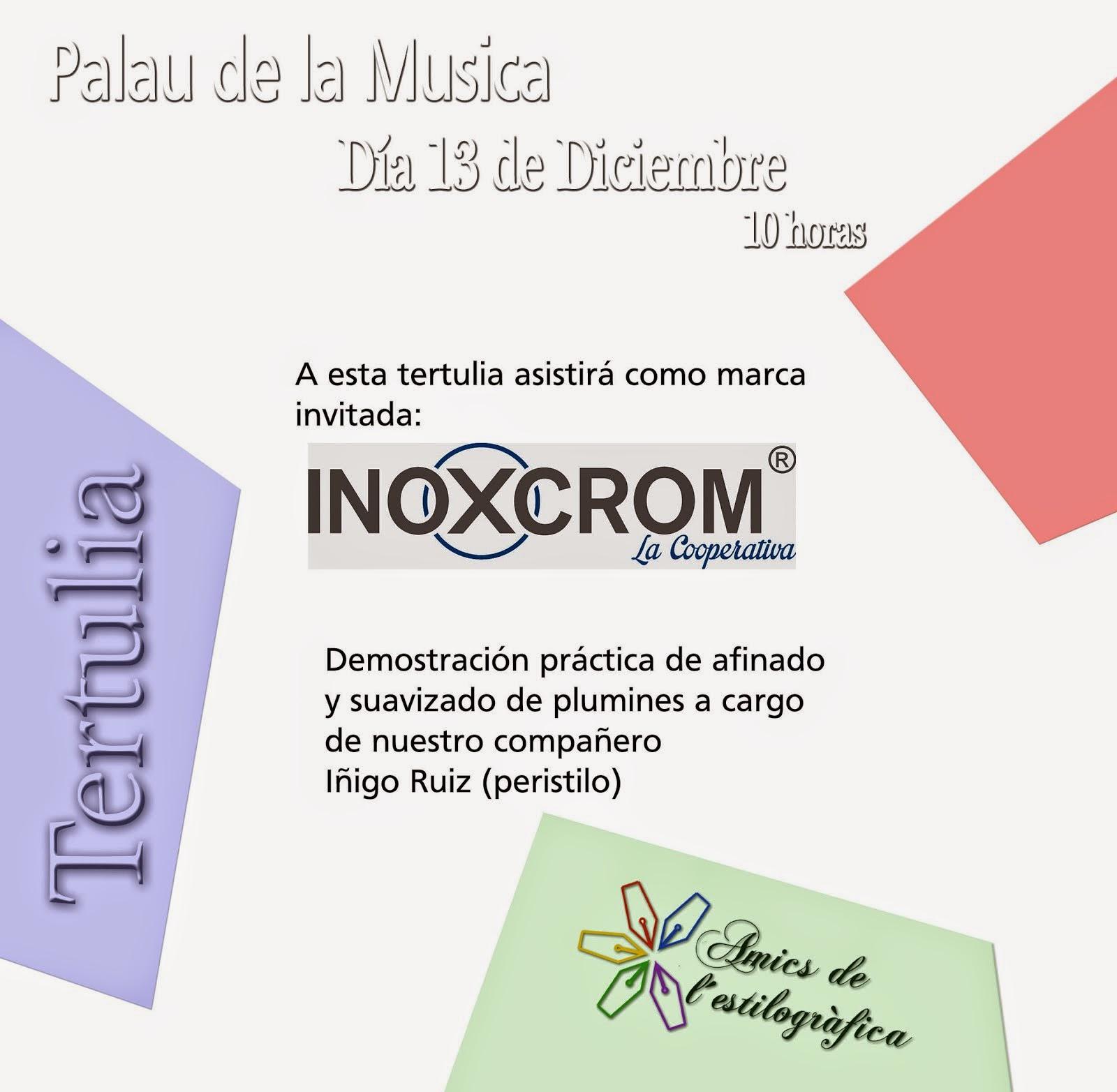 27 TERTULIA 13 DE DICIEMBRE 2014 (INOXCROM)