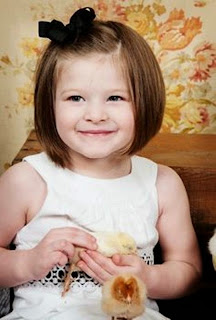 Gaya rambut pendek untuk anak perempuan 2015