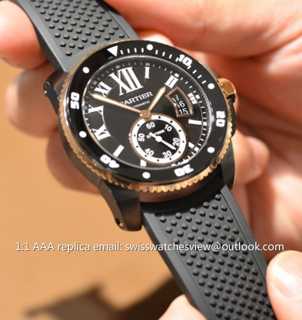 Calibre De Cartier Diver Replica Watches Cartier Calibre