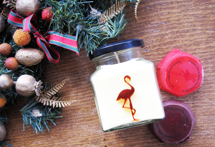 Flamingo Candles Chocolate Orange Candle, Mulled Wine & Berries and Vanilla & Spice Scent Melts review