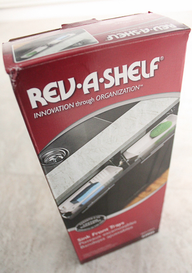 Rev-a-shelf kitchen sink tip-out tray