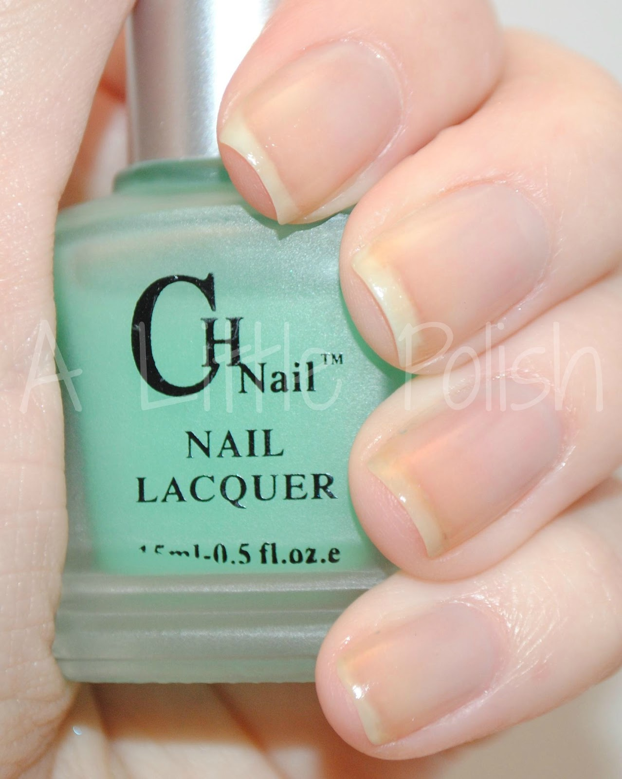 A Little Polish: CH Nail - Glow In The Dark Polish Review