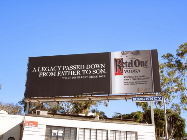 Ketel One legacy passed down billboard