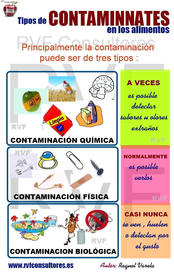 Principales tipos de contaminantes en los alimentos manipulando lo que comemos - Fuentes de contaminacion de los alimentos ...