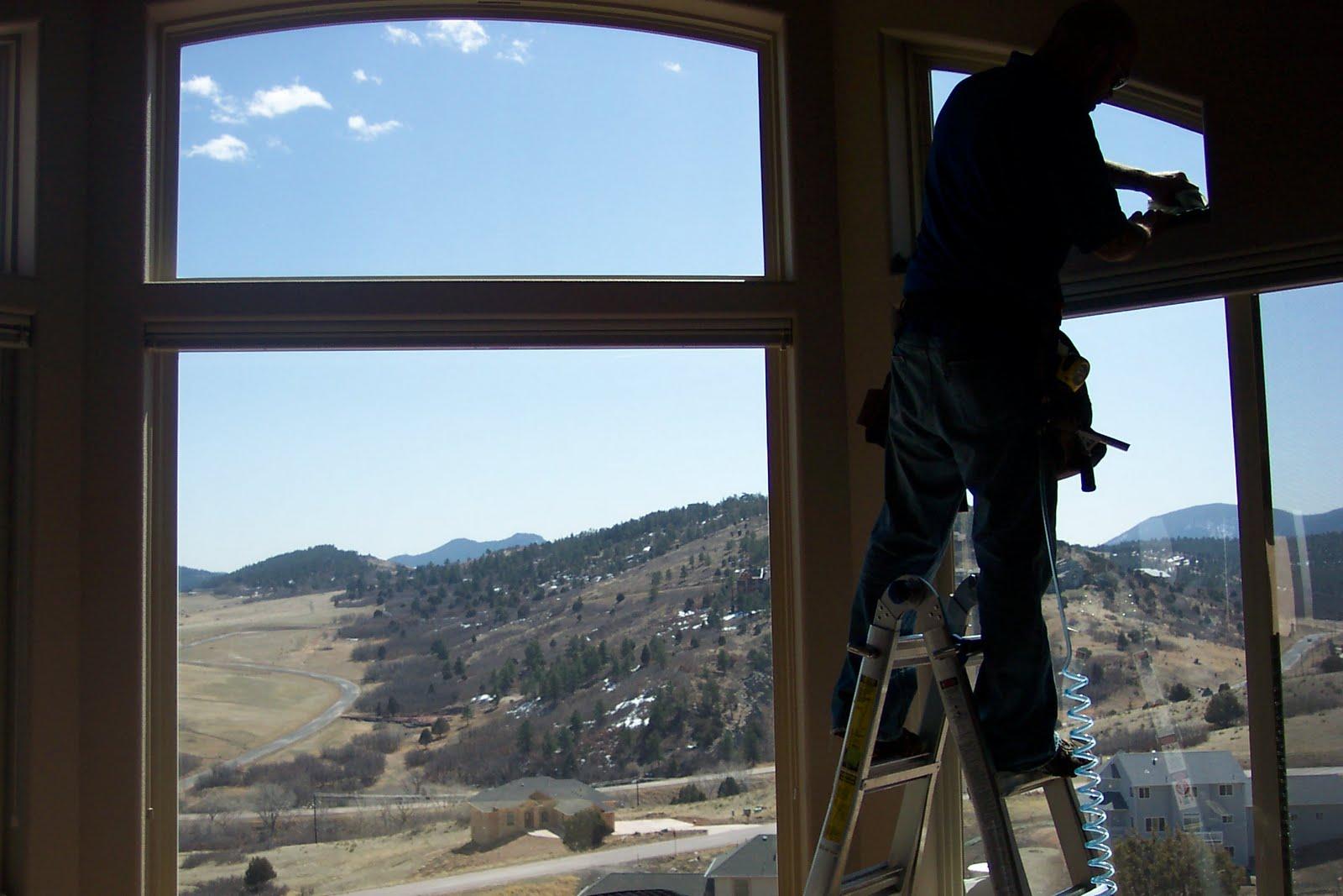 Large windows tinting film