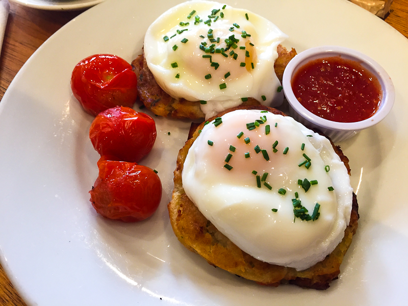 Potato Cakes and brunch from Queen of Tarts in Dublin Ireland