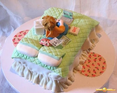 Funny Bedroom Cake