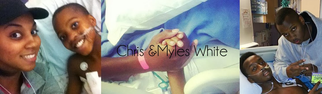Chris and Myles White