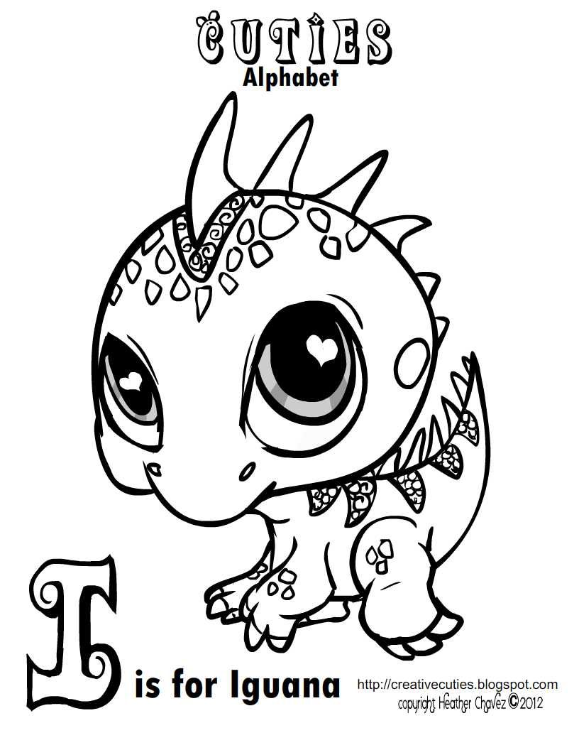 Creative Cuties Colouring Pages page 2