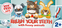 Brush your teeth with funny animals for kids and toddlers
