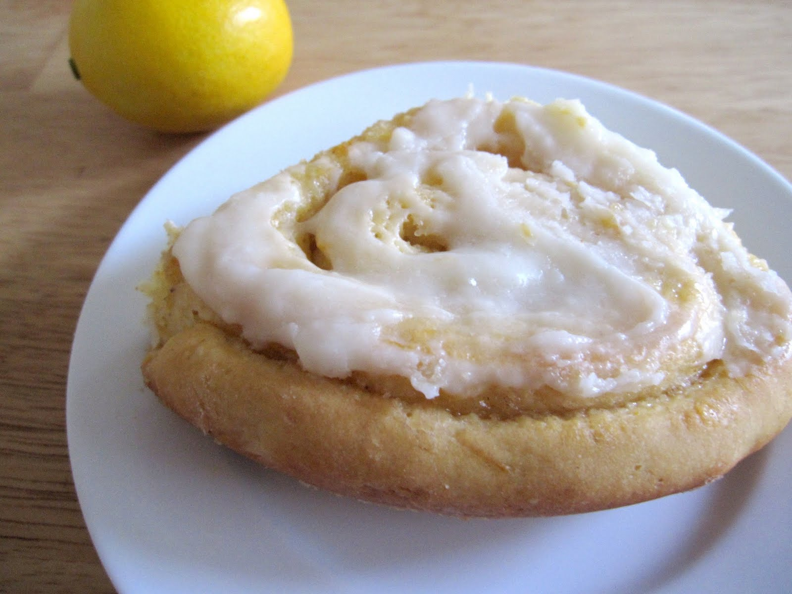 The Scratch Patch: Meyer Lemon Sticky Rolls with Cream ...