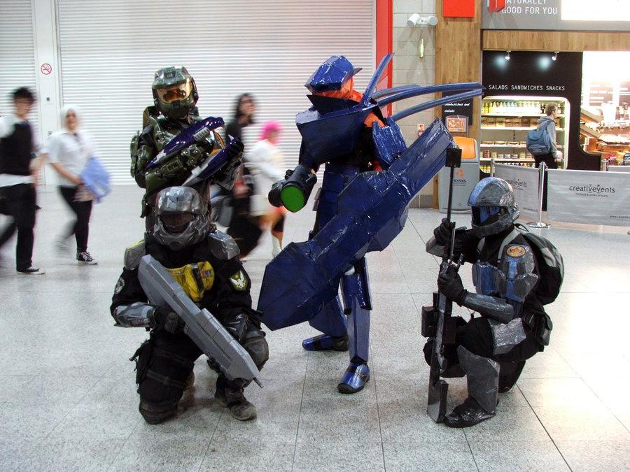 Halo hunter costume