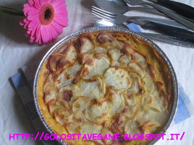 pasticcio, patate, carote, radicchio rosso, porro, aglio, paprika, latte vegetale, latte di soia, lievito alimentare in scaglie, purè, ricette vegan, Piatti unici,
