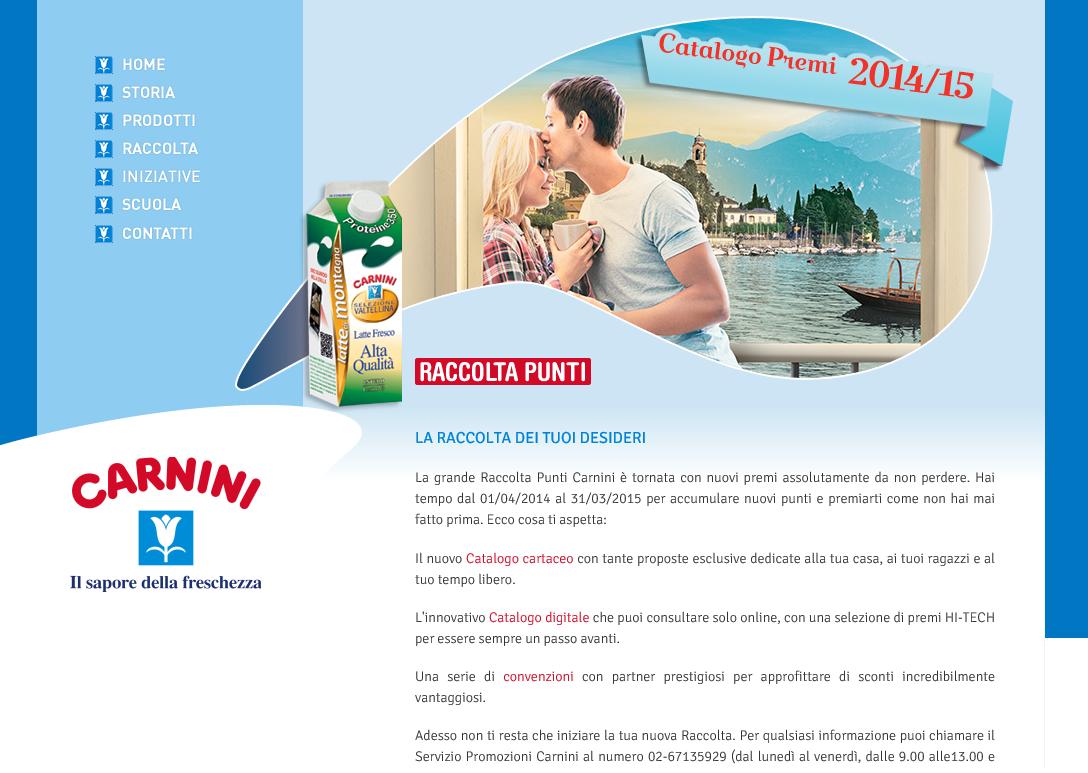 Raccolta Punti Carnini 2014