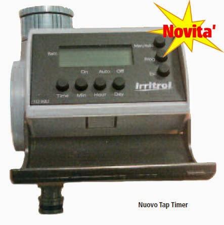 Acquagarden centralina irrigazione tap timer for Centralina per irrigazione a batteria