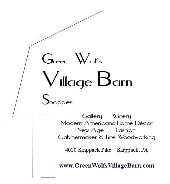 Green wolf 39 s village barn shoppes in skippack retail shop for Craft shows in montgomery county pa
