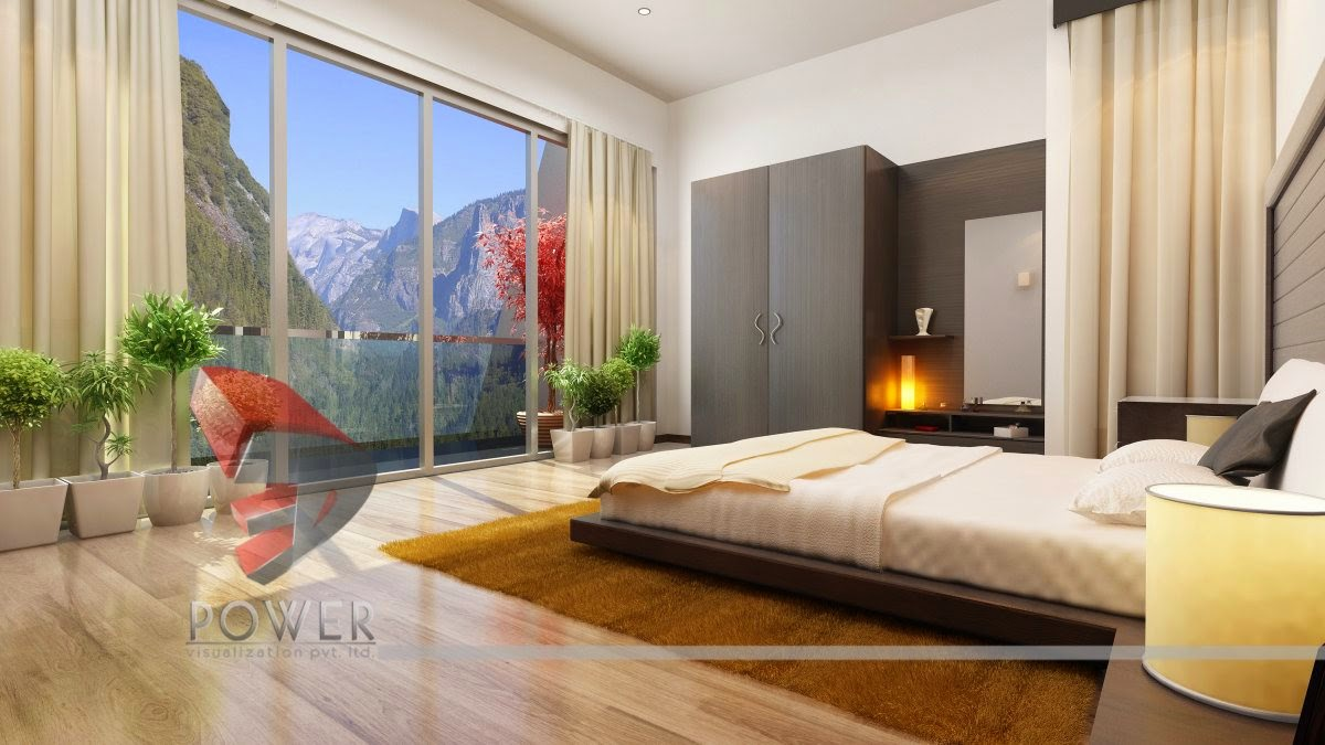 3d interior designs interior designer bungalow interior for Master bedroom interior design images