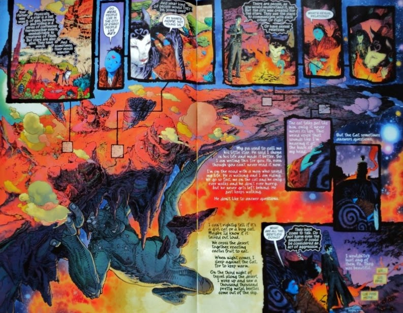 Sandman Overture # 3 - Neil Gaiman J.H. Williams III