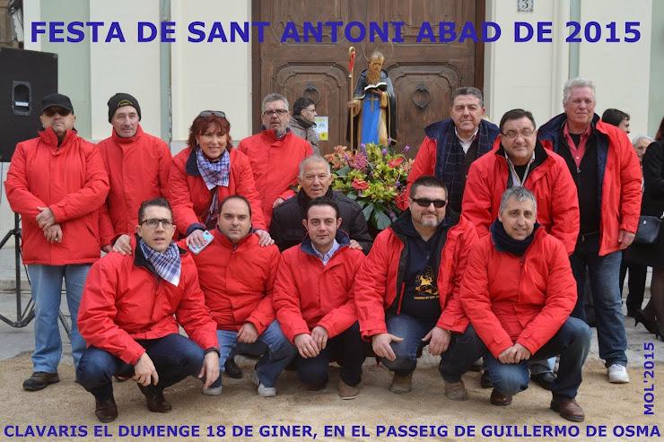 FESTA A SANT ANTONI 2015