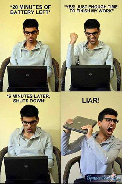 funny things laptop picture