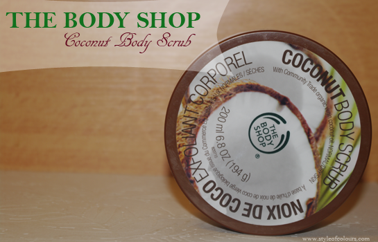 The Body Shop Coconut Body Scrub