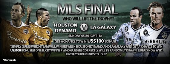Guess Who will lift the trophy on MLS Finals between Houston Dynamo v LA Galaxy?