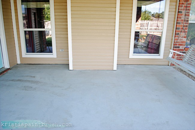How to Paint a Porch Floor | Includes a detailed step-by-step prep-to-finish tutorial, along with paint color ideas.