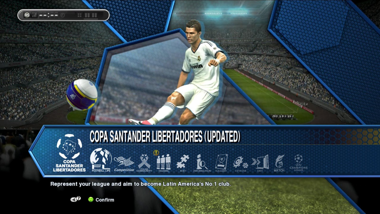 PES 2013 Patch 1.04 + DLC 5.0 Official Released !
