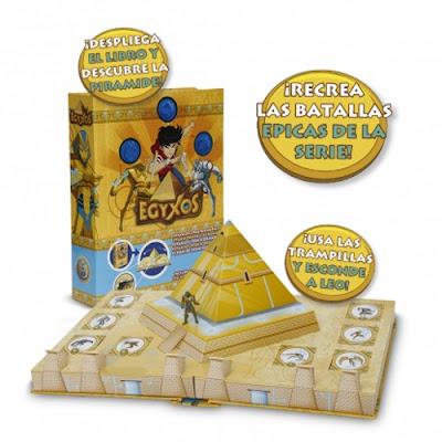 TOYS : JUGUETES - EGYXOS - Playset Libro Piramide  Producto Oficial Serie 2016 | Giochi Preziosi | A partir de 4 años  Comprar en Amazon España