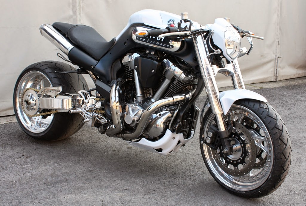 Yamaha MT-01 Street Fighter - Grease n Gas